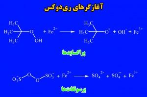 سامانههای آغازگر ریدوکس برای پلیمریزاسیون امولسیونی اکریلاتها